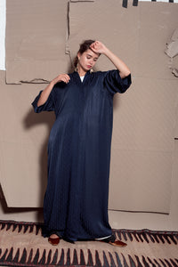 Midnight Navy Abaya