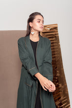 Load image into Gallery viewer, Mythic Green Abaya
