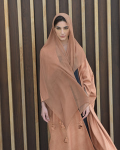 Winter Copper Bisht Abaya