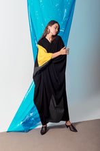 Load image into Gallery viewer, Eclectic Yellow Abaya