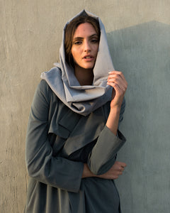 Voile Snood in Infinity