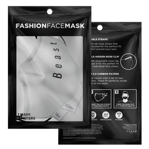 Beast-Couple Face mask