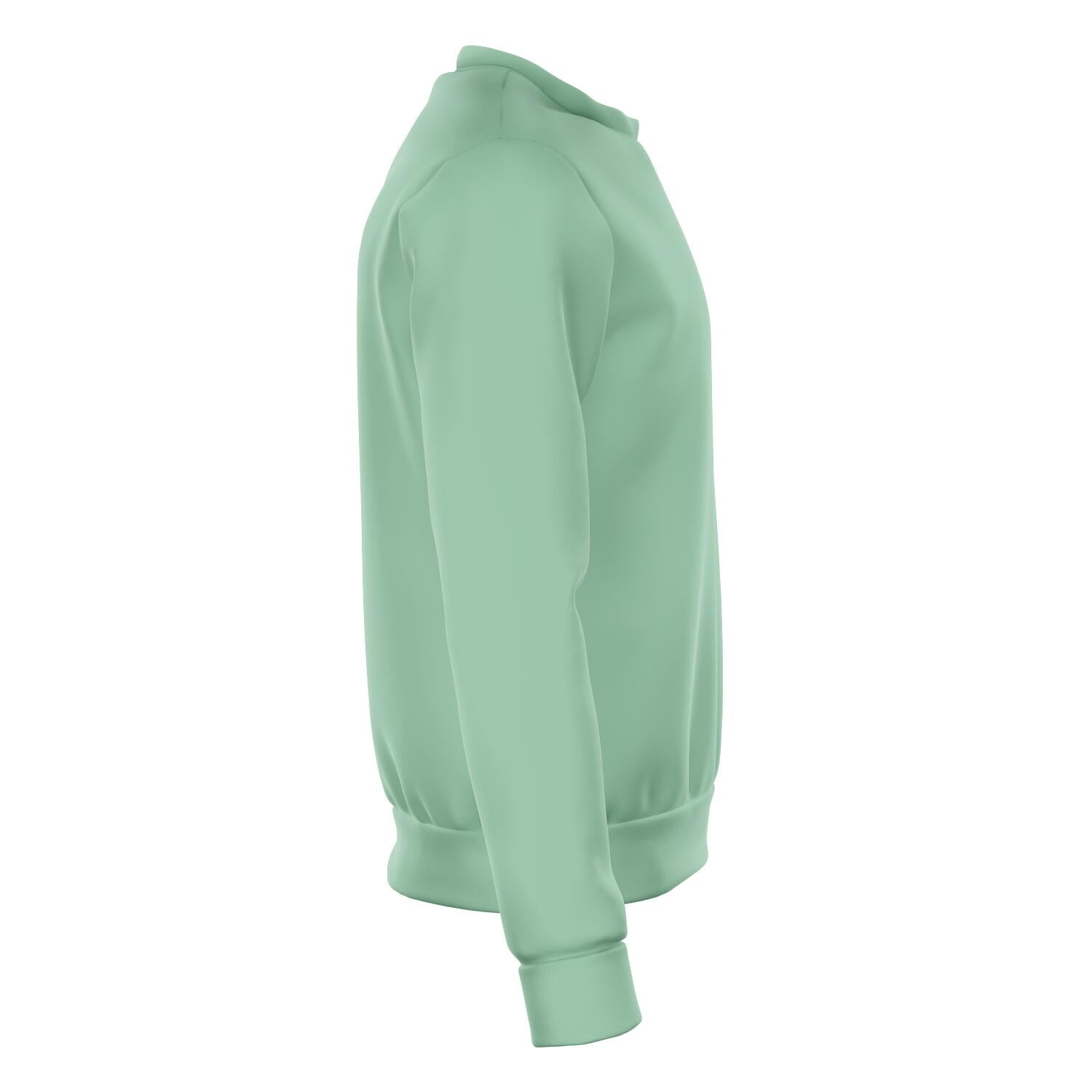 Basic Jade Green Sweatshirt