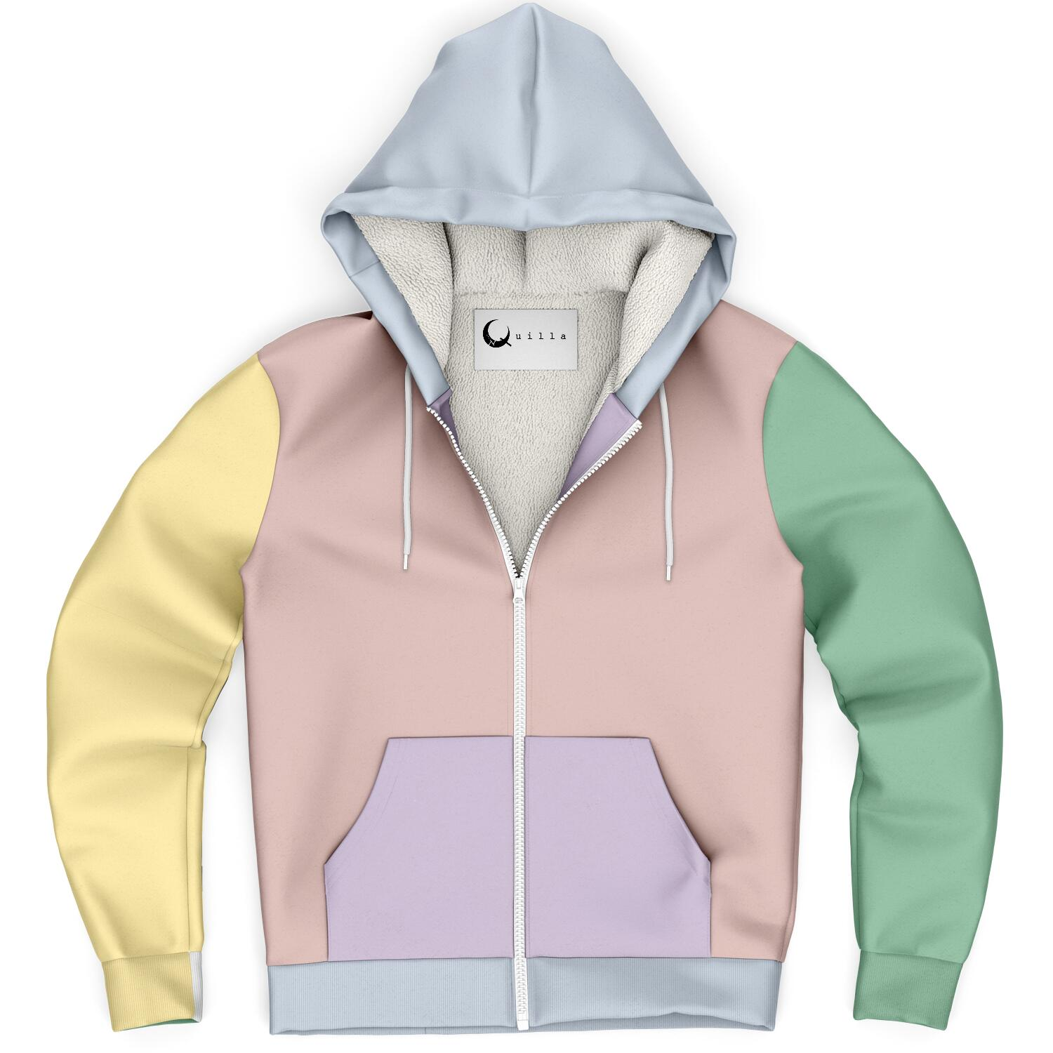 Limited Edition Pastel Microfleece Warm snuggle Hoodie