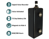 Paraben black vox | Long Life Audio Recorder Austin Tx