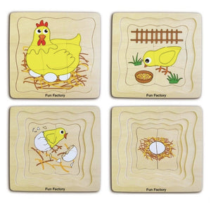 Fun Factory | 4 Layered Chicken Puzzle