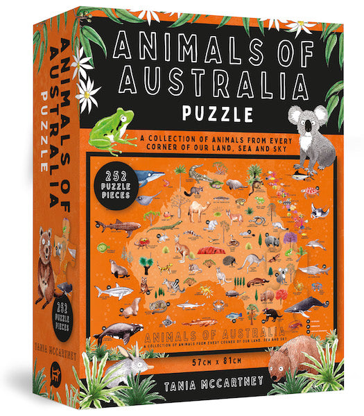 Animals of Australia Jigsaw Puzzle - 252 pcs