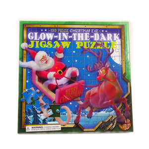 Christmas Eve Glow in the Dark 100 Piece Jigsaw Puzzle - House of Marbles