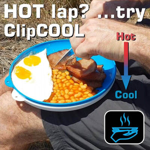 ClipCroc Dish Set | 4 Pack 'Clip-together' Crockery