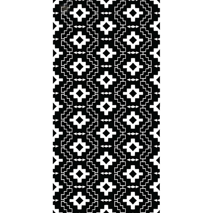 ECO Beach Towel - Aztec Black & White
