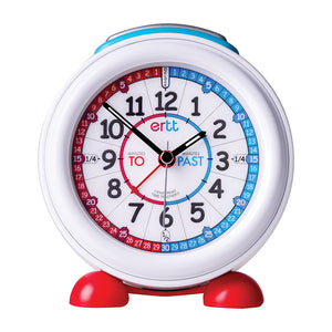 EasyRead Time Teacher Alarm Clock | Red/Blue Face