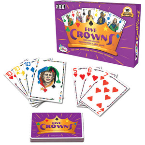 Five Crowns - Rummy Style Card Game