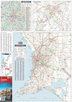 Hema Maps Adelaide And Region | Regional Map