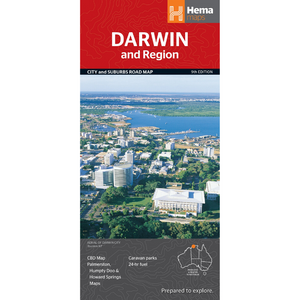 Hema Maps Darwin And Region | Regional Map