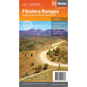 Hema Maps Flinders Ranges