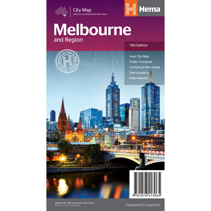 Hema Maps Melbourne And Region | Regional Map