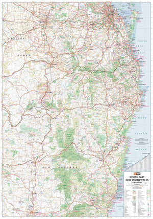 Hema Maps North East New South Wales | Regional Map
