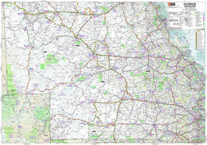 Hema Maps Outback Queensland | Regional Map