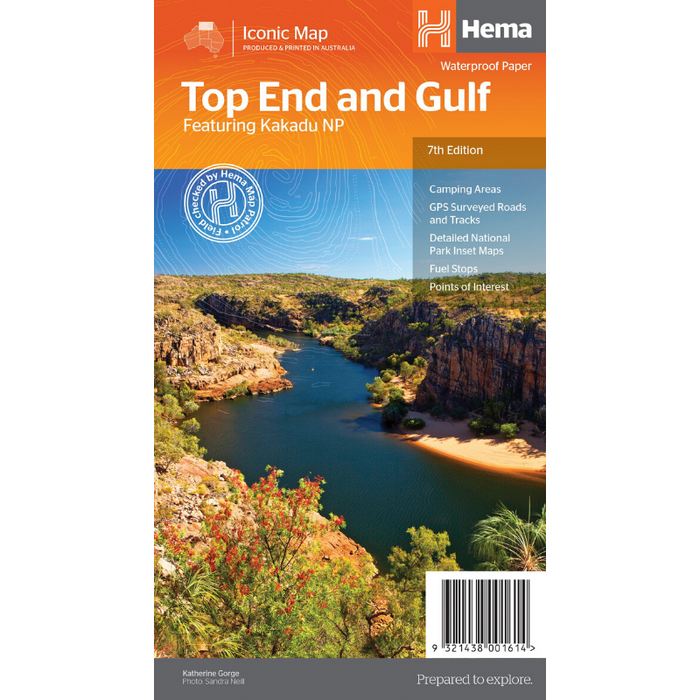 Hema Maps Top End And Gulf | Regional Map