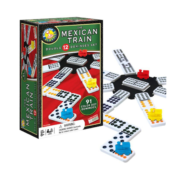 Dominoes - The Mexican Train Double 12 Set