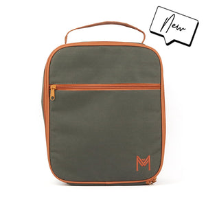 MontiiCo Insulated Lunch Bag | Moss