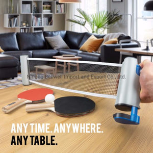 Table Tennis Portable Retractable Net | Play Anywhere!