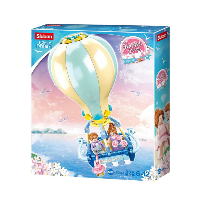 Sluban Bricks - Girls Dream Hot Air Balloon 225 pcs