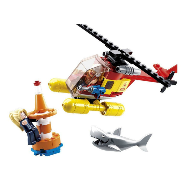 Sluban Bricks - Surf Beach Patrol Helicopter 149 pcs