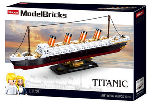 Sluban Bricks -Model Bricks Titanic 481 pcs