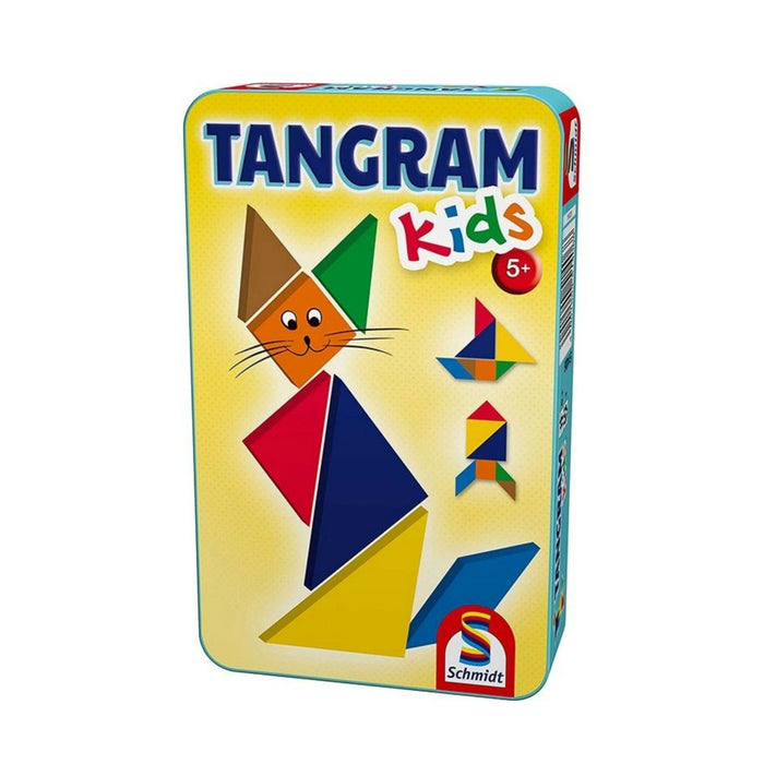 Tangram for Kids in a Tin