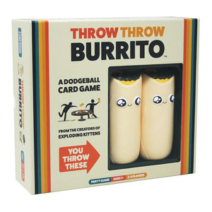Throw the Burrito - A Dodgeball Card Game
