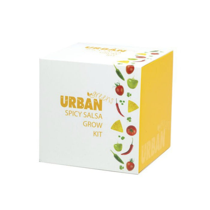 Urban Greens Grow Your Own Kit - Spicy Salsa
