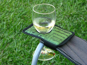 Winerest Camping Chair Wine Glass Holder | Available In Six Colours