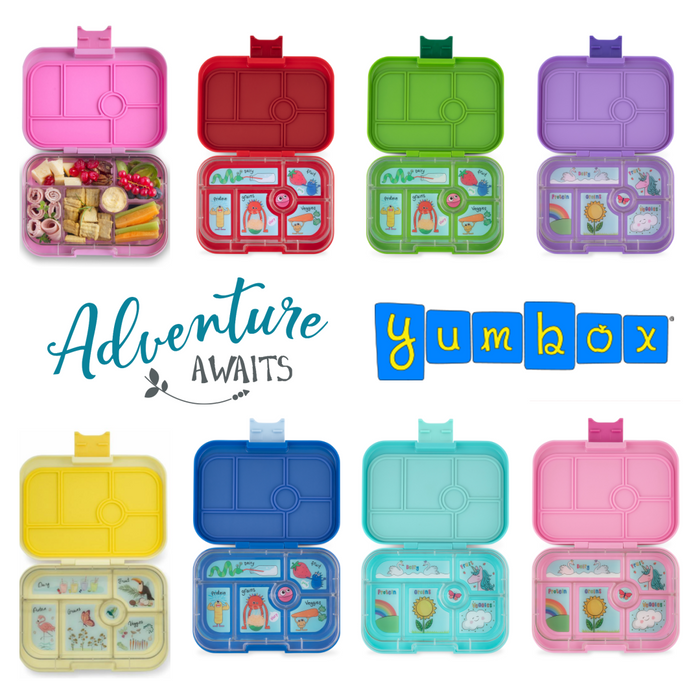 Yumbox Original | 6 Compartment Lunch Box