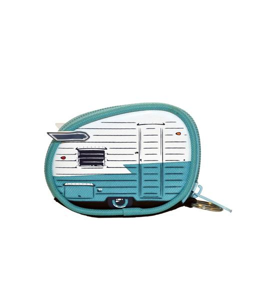 Van Go Coin Purse | 'Summer Wings' Teal