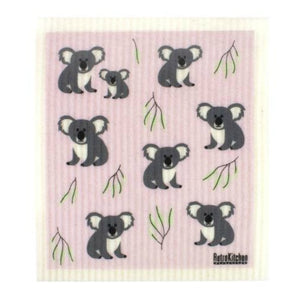 Retro Kitchen Biodegradable Dish Cloth | Koalas