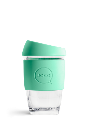 JOCO Reusable Glass Cup | 177ml - 6oz