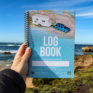 Caravan & Camper Log Book | Australian Made
