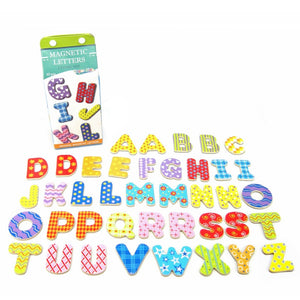 Milk Carton Magnetic Letters - Uppercase