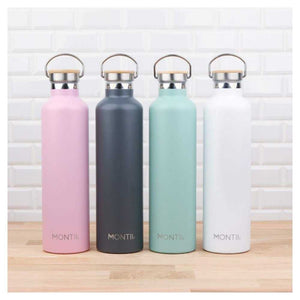 MontiiCo Stainless Steel Drink Bottle | Mega 1 Litre