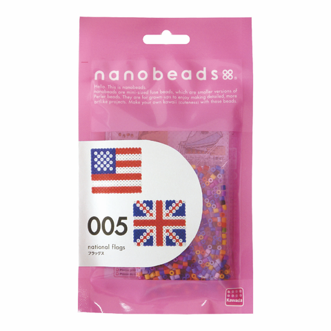 nanobeads® Fuse Beads | National Flags