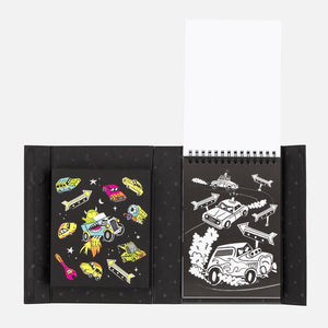 Tiger Tribe Colouring Set | Neon Road Stars