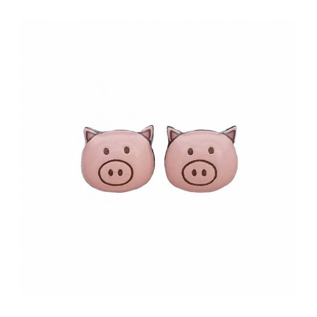 Bok Bok B'Gerk Earrings | Pig
