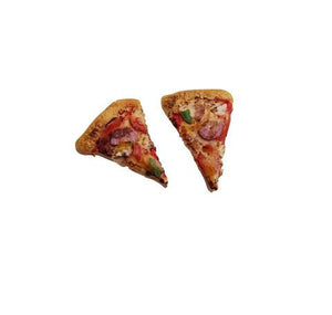 Saturday Lollipop Stud Earrings | Pizza Slice