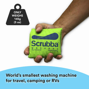 Scrubba Wash Bag | Worlds Smallest Washing Machine