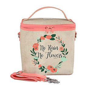 SoYoung Large Cooler Bag - No Rain No Flowers