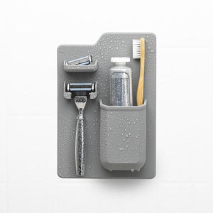 Tooletries The Harvey | Toothbrush & Razor Holder | Grey
