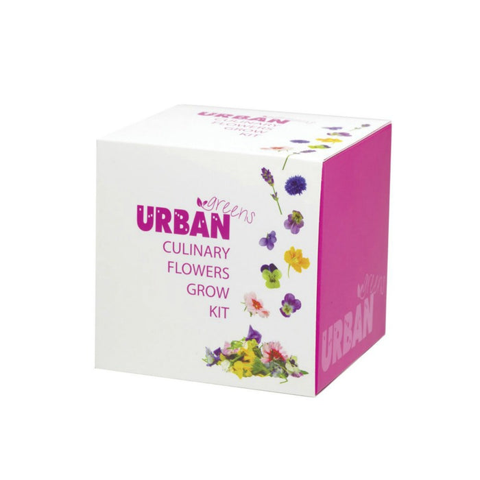 Urban Greens Grow Your Own Kit - Culinary Flowers