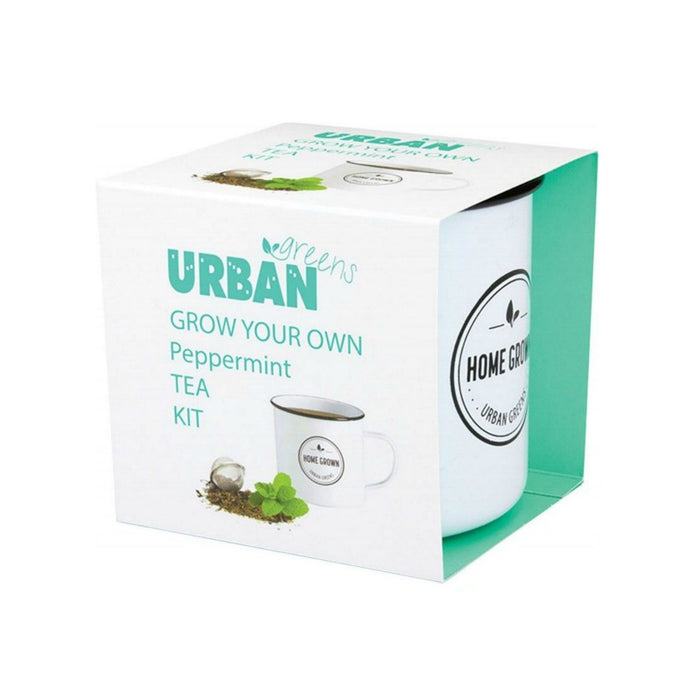 Urban Greens Grow Your Own Tea Kit - Peppermint