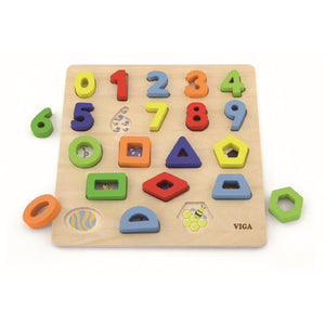 VIGA Block Puzzle | Numbers and Shapes